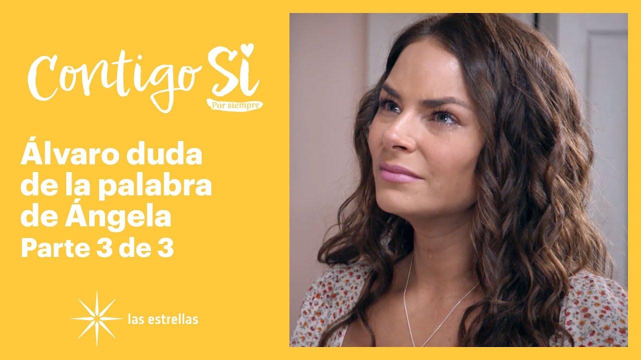 Download Contigo Sí 3/3: Álvaro le hace una escena de celos a Ángela | C-6