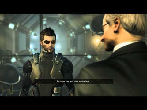 Let's Play Deus Ex: Human Revolution! - 053 - Talking to Tweedledee and Tweedledum