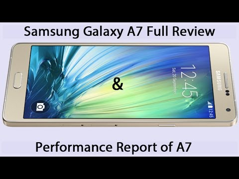 Samsung Galaxy A7 Review and Full Specifications