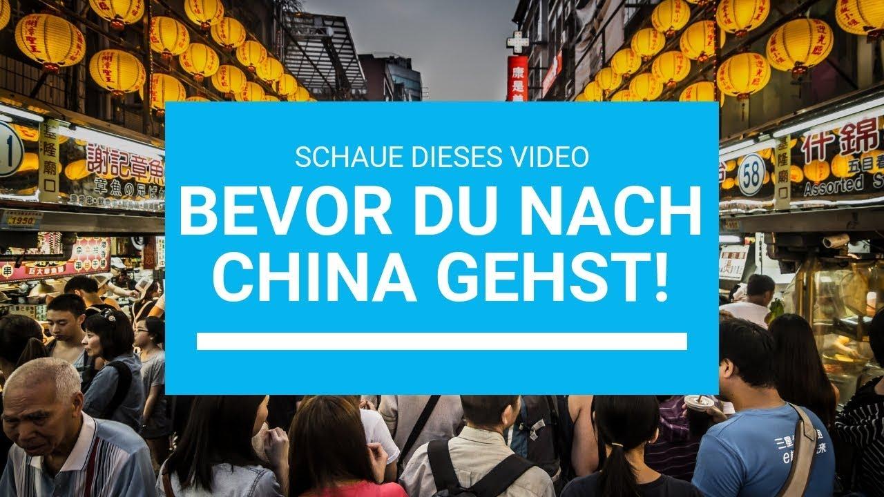 China kennenlernen