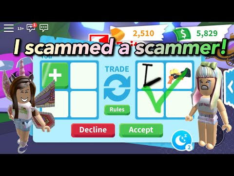 I SCAMMED A SCAMMER In Adopt Me And Then This Happened.. | ROBLOX