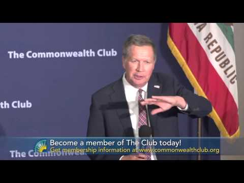 Gov. John Kasich, Presidential Candidate: A Town Hall (Clip 1: Kasich on People Being Born Gay)