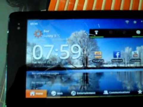 Huawei IDEOS S7 slim 201u touch screen problem