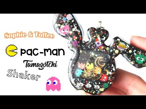 Pac-Man Tamagotchi Shaker│Sophie & Toffee Subscription Box March 2019