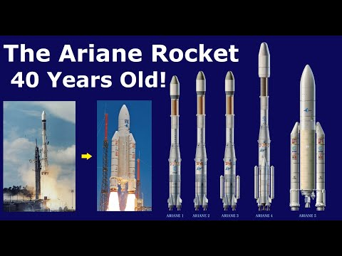 How Europe Designed and Evolved The Ariane Rocket Over Last 4 Decades
