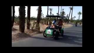 Des Rosalies et des tandems à Marrakech!!  une première!!!