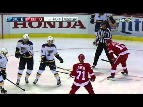 20.01.2016 St. Louis Blues vs Detroit Red Wings