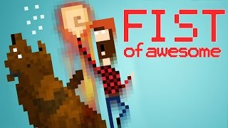 FIST OF AWESOME - PC - Gameplay Comentado em Português PT-BR