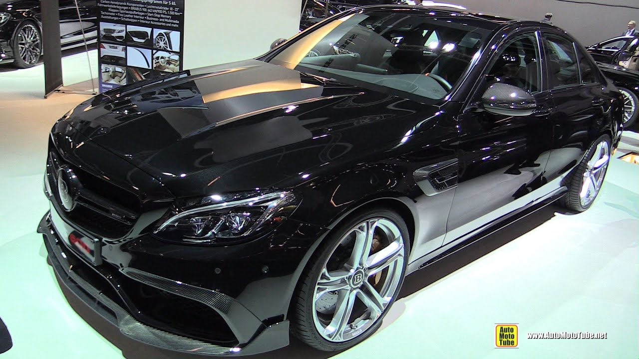 2016 MercedesAMG C63 Brabus 600hp  Exterior and Interior