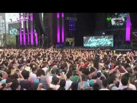 Headhunterz @ Ultra Music Festival Chile 2014.10.12