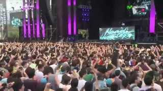 Headhunterz @ Ultra Music Festival Chile 2014.10.12