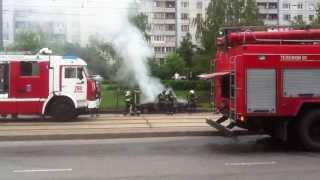 Пожар в Строгино