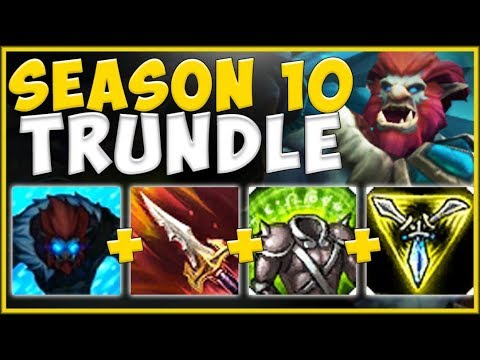 WTF! THIS NEW LIFESTEAL ITEM ON TRUNDLE IS 100% UNFAIR! TRUNDLE SEASON 10 TOP! - League of Legends