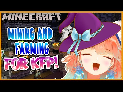 【Minecraft】Prepping for the first KFP restaurant building! #kfp #キアライブ