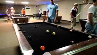 Pool Suicide Game, Make 15 balls without missing a shot