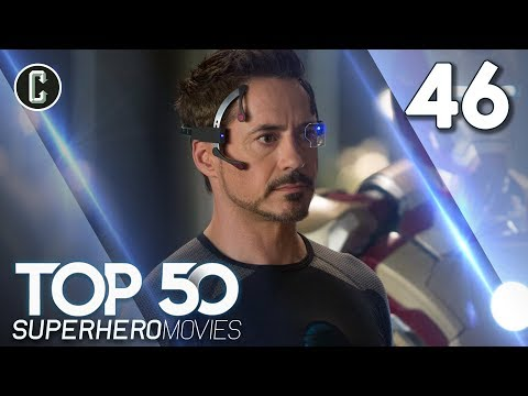 Top 50 Superhero Movies: Iron Man 3 - #46