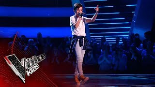 Freddie M Performs 'Salute'   Blind Auditions   The Voice Kids UK 2019