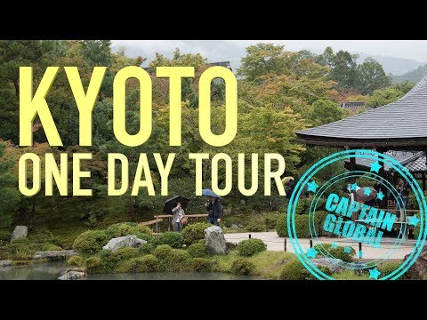 Kyoto, Japan: One Day Tour in 4K