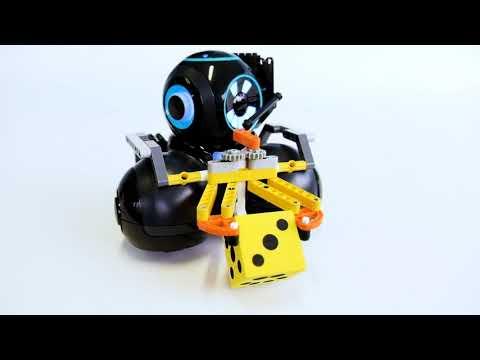 Gripper Building Kit Featuring Cue Robot | Wonder Workshop