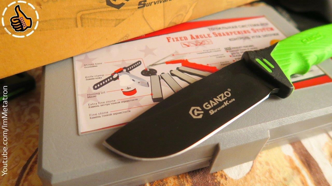 Фонарик маркет ножи ганзо нож сарган для подводной охоты
