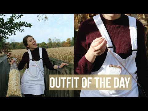 Outfit of the day & fall in Indiana