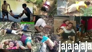 Las caídas de la Maruca, Gladis, Wendy, Nano, Armando, Normita y don Pollo - parte #2 thumbnail
