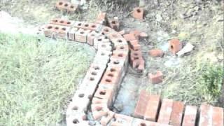 Brick Flowerbed