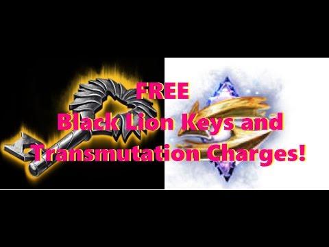 FREE Black Lion Keys And Transmutations Charges For Guild Wars 2!