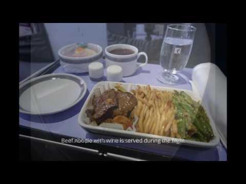 Business class flight experience with Air Macau (MFM-KHH)