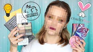 Cały Makijaż Kosmetykami NIE testowanymi Na Zwierzętach❣️Makijaż Cruelty Free