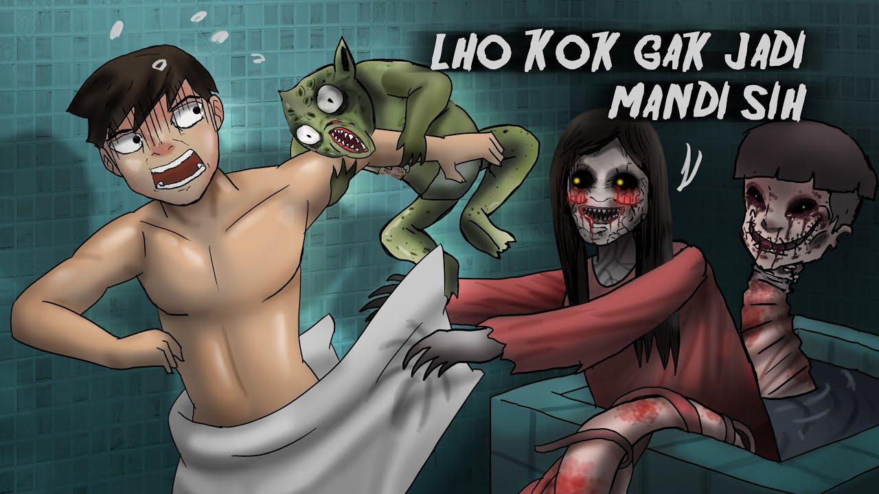 Gara2 Anak Indigo, Aku Melihat Setan #HORORMISTERI  | Kartun  Hantu, Animasi Horor Mata Batin