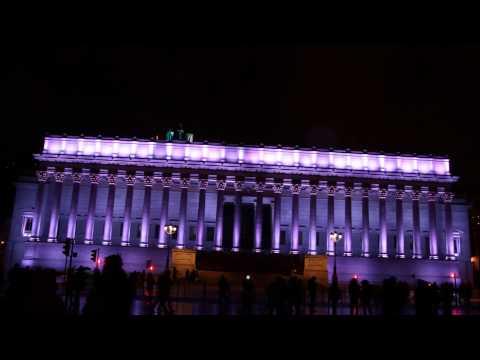 Une nuit à Lyon, la Fête des Lumières 2014