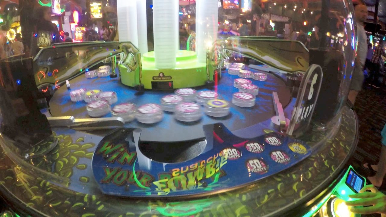 Zombie Snatcher Game At Dave And Busters Hollywood Fl