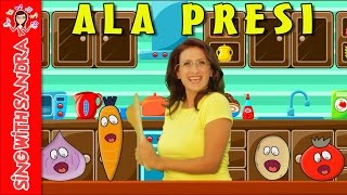 Ala Presi   Children's Songs   Nursery Rhymes   Music For Kids   Songs For Kids   Sing With Sandra