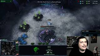 StarCraft 2 Protoss vs Terran  My hat is in his base