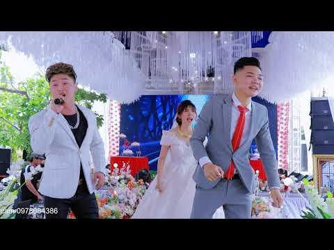 Cô dâu chú rể Quẩy sung cùng Ca Sĩ Du Thiên - Mãi Mãi Là Anh Em Remix tại đám cưới Vip Vĩnh Yên 4k