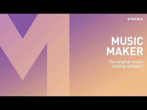 MAGIX Music Maker – Produce, record and mix music (2019)