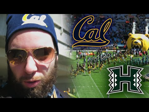 Cal Vs Hawaii VLOG | College Football Sydney Cup 2016