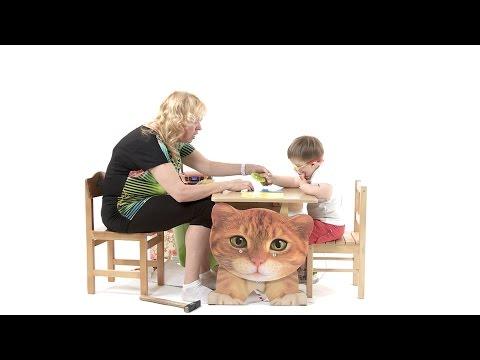 Развивающие игры для детей до года. Совместное видео с Narine Arakelov Упражнение собери в корзинку Цель: Развитие восприятия (дифференциация формы