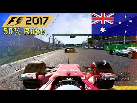 F1 2017 - Let's Make Giovinazzi World Champion #2: Australia - 50% Race