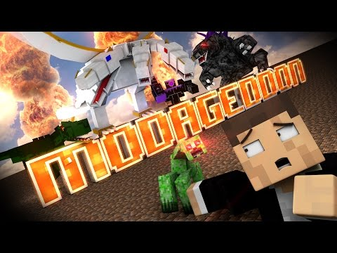 """""""Modageddon"""" - Minecraft Parody of Bastille's Pompeii"""