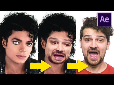FACE MORPH From Michael Jackson - After Effects Tutorial