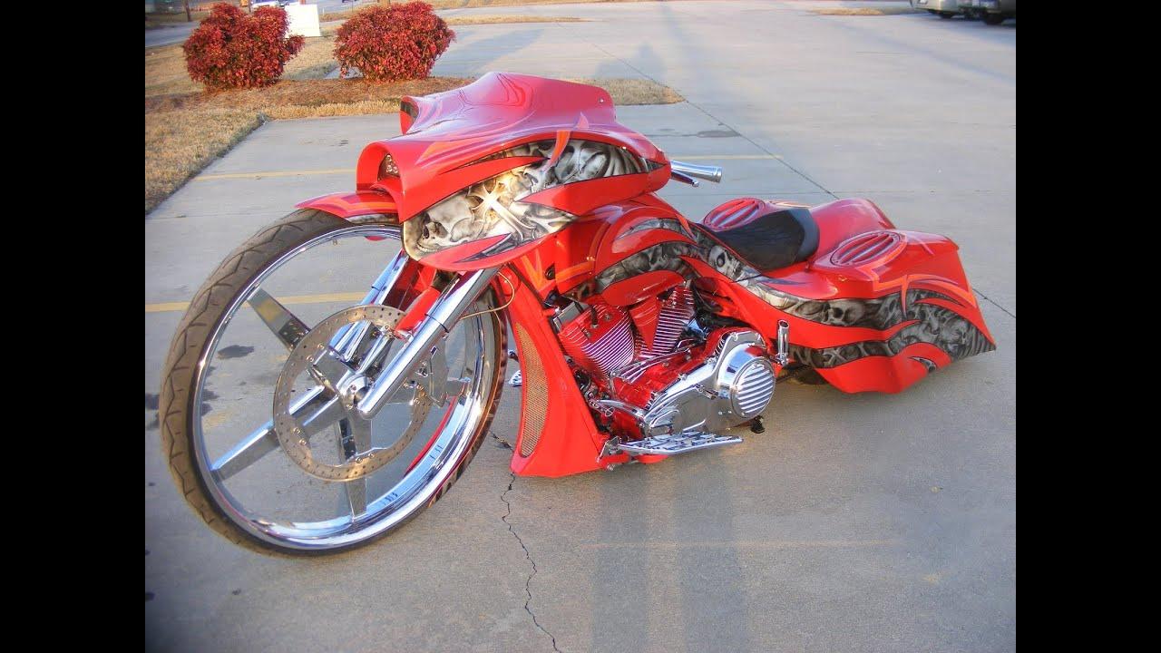 worlds first 32 inch wheel Custom Street Glide Bagger Harley Davidson  Custom Cycles LTD