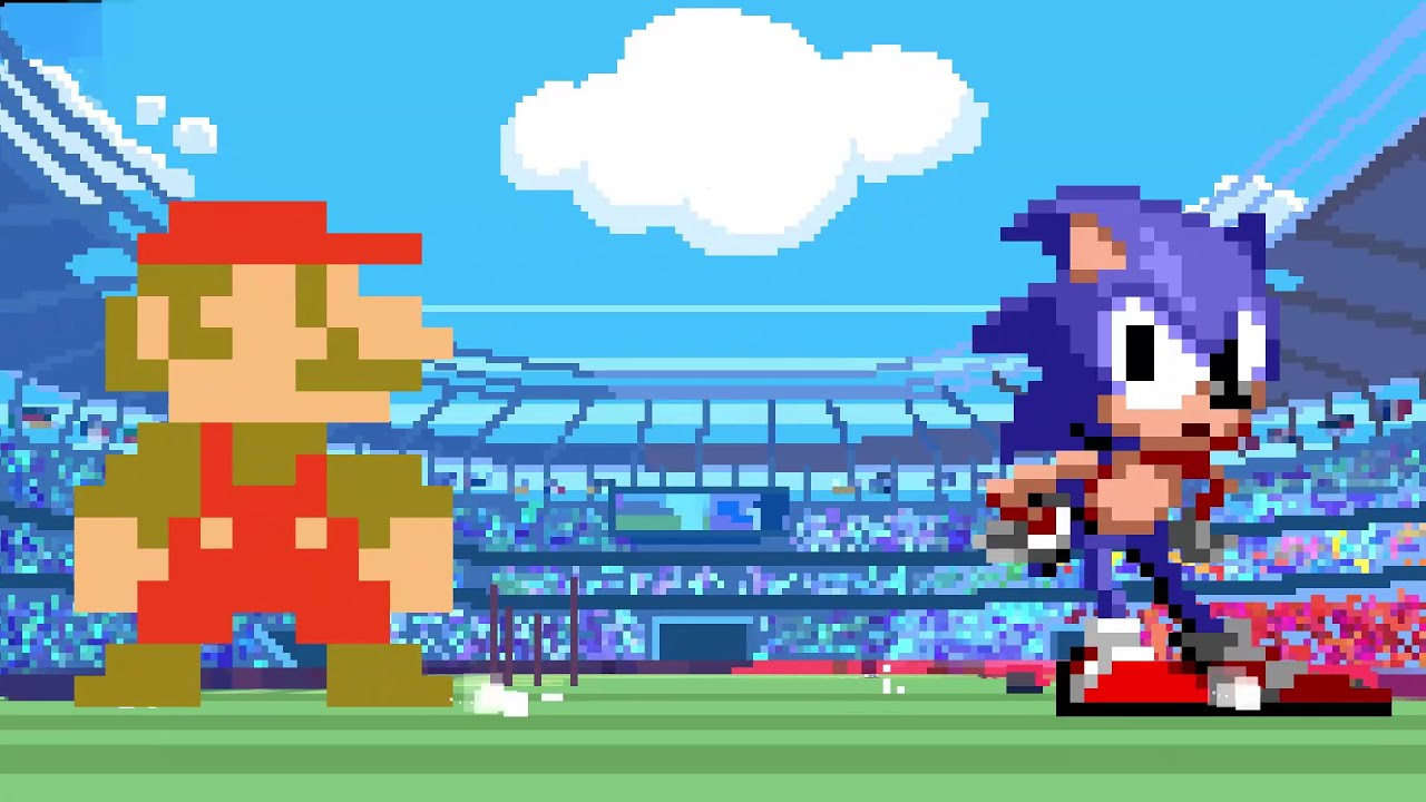 2020 Winter Olympics Olympic Sports.Mario Sonic At The Olympic Games Tokyo 2020 Classic 2d Events Reveal Trailer