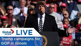 Trump campaigns for GOP in Illinois
