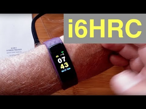 "iWOWNfit i6HRC ""FitBit Like"" IP67 Waterproof Fitness Tracker Smart Band: Unboxing & Review"