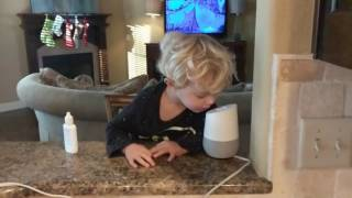 Toddler Rejected by Google Home