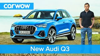 New Audi Q3 2019 - The Poshest Small Suv Ever Made? | Carwow