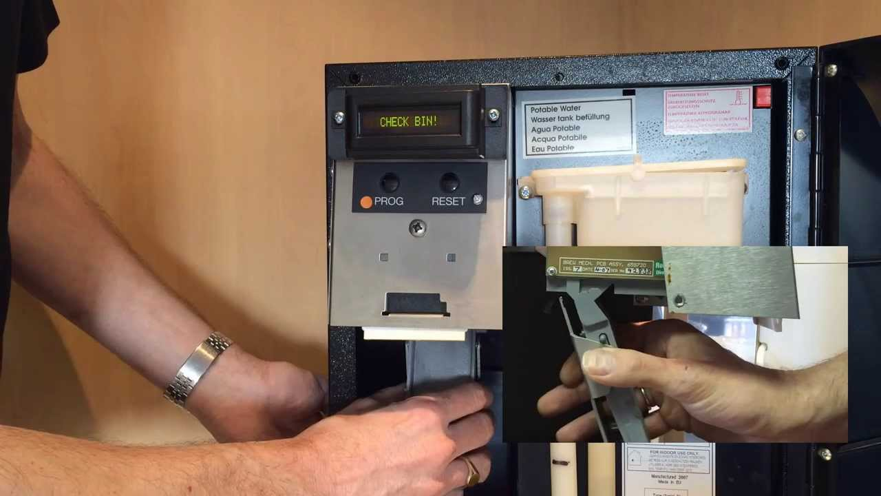 Mannvend Quick Fix Tutorial How To Clear A Check Bin Or Jammed Capsule On A Kenco Singles Machine