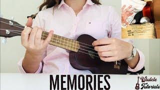 Maroon 5 - Memories EASY Ukulele Tutorial